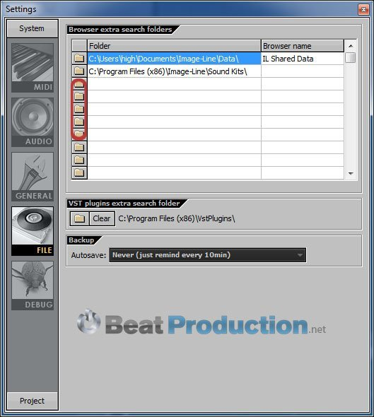 FL Studio import