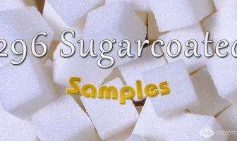 296 Sugarcoated Samples