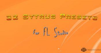 32 Sytrus Presets for FL Studio
