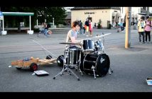 Crazy Drummer From Norway