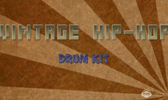 Vintage Hip-Hop Drum Kit