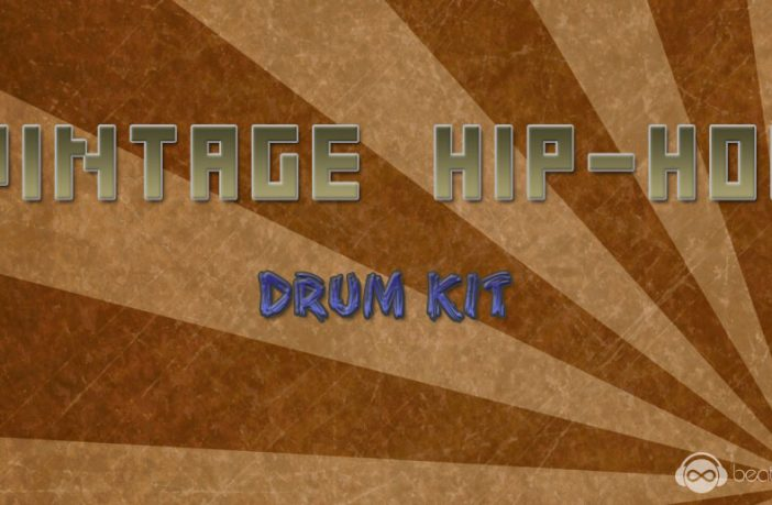 Vintage Hip-Hop Drum Kit