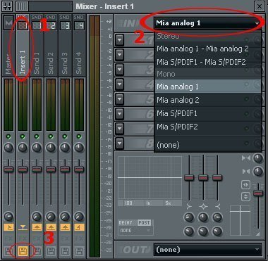 how to record on fruity loops