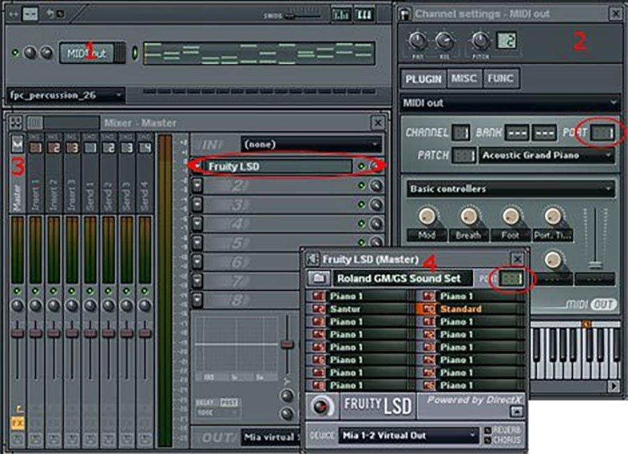 No MIDI Sound