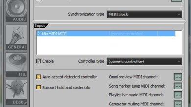 Connect a Midi Keyboard