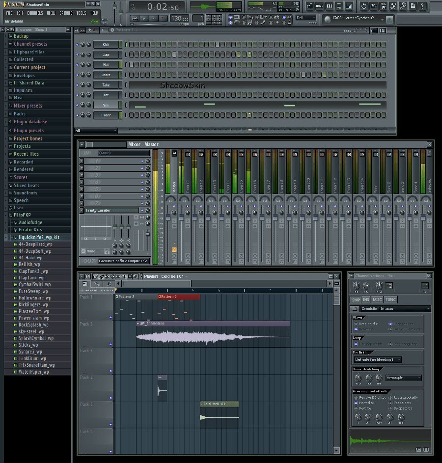 FL Studio 11 Shadow Skin
