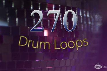 270 Drum Loops