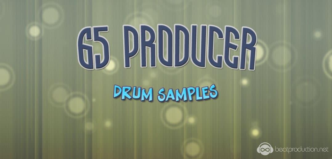 65 Producer Drum Samples