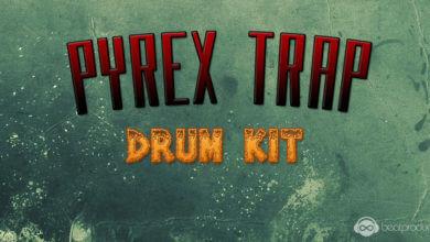 Pyrex Trap Drum Kit