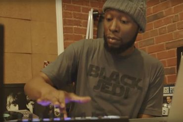 Soul Brother 9th Wonder at work on Rhythm Roulette