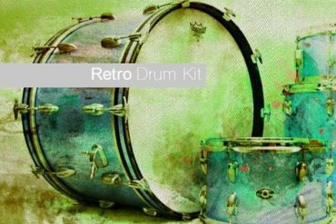 Retro Drum Kit