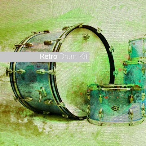 Retro Drum Kit