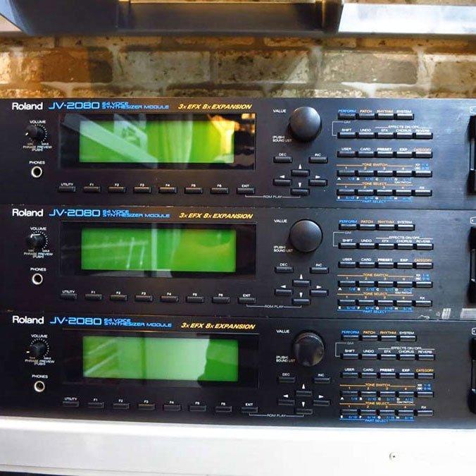 Roland JV 2080 Samples