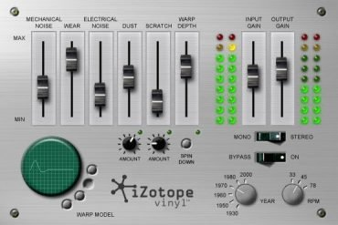 Izotope Vinyl VST Plugin