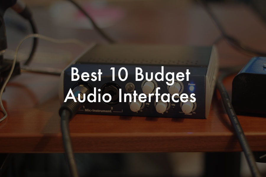 audio-interface-budget