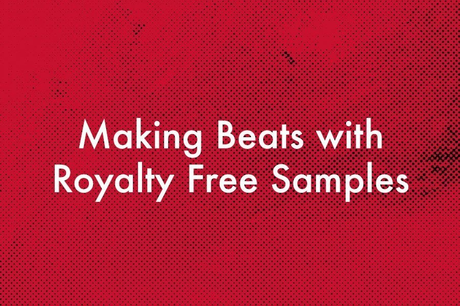 Making beats with royalty free samples beat production for Create beats online free