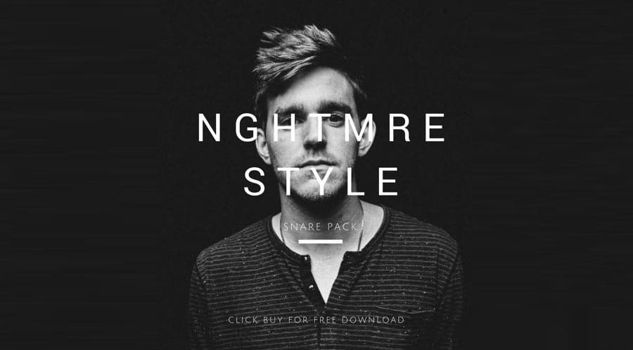 NGHTMRE Snare Samples