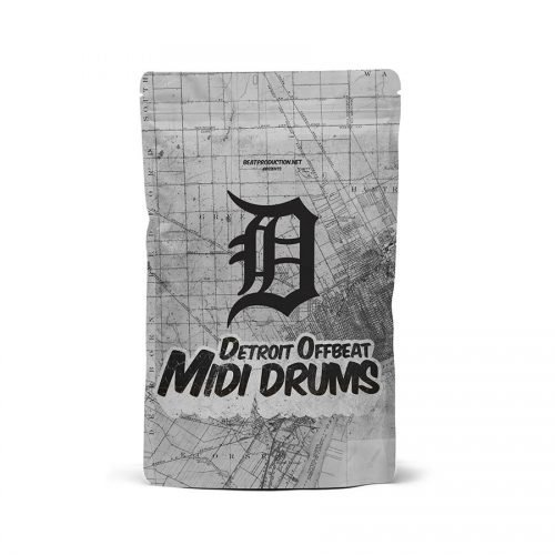 Detroit Offbeat Midi Drum Patterns Pack