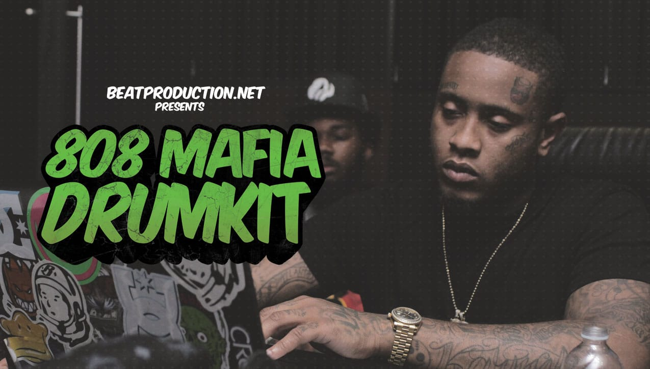 808 Mafia Drum Kit