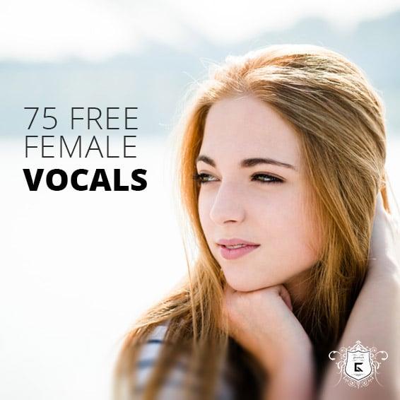 Free Female Vocals