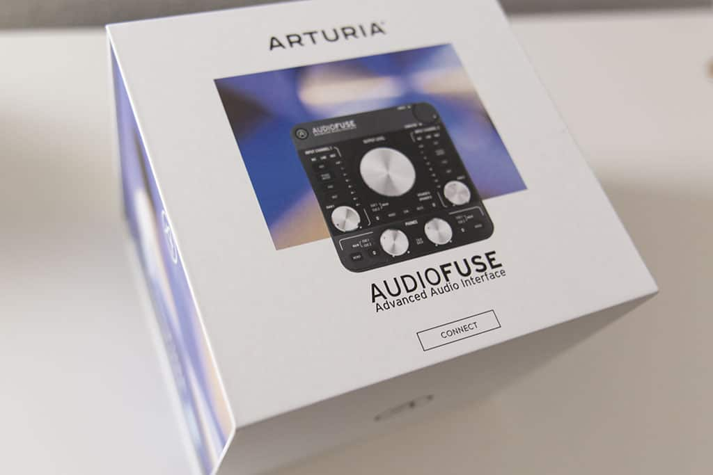 Arturia Audiofuse Interface Packaging