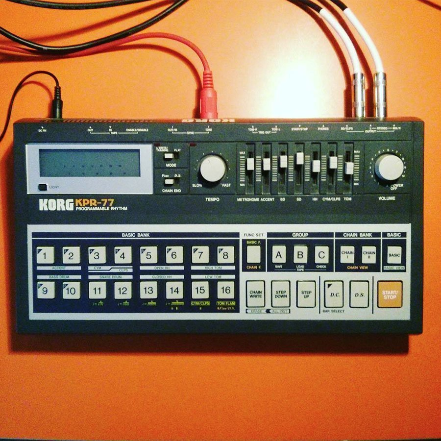 Roland KPR-77 Drum Samples