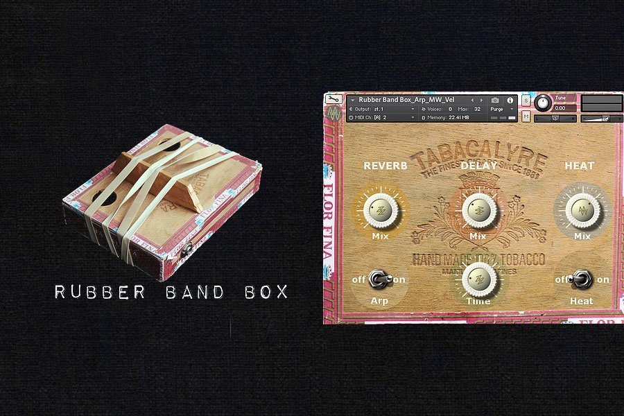 Rubber Band Box Kontakt Library