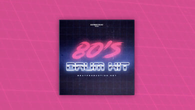 80s Drum Kit