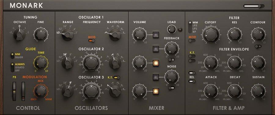 Monark Synth VST Audio Plugin