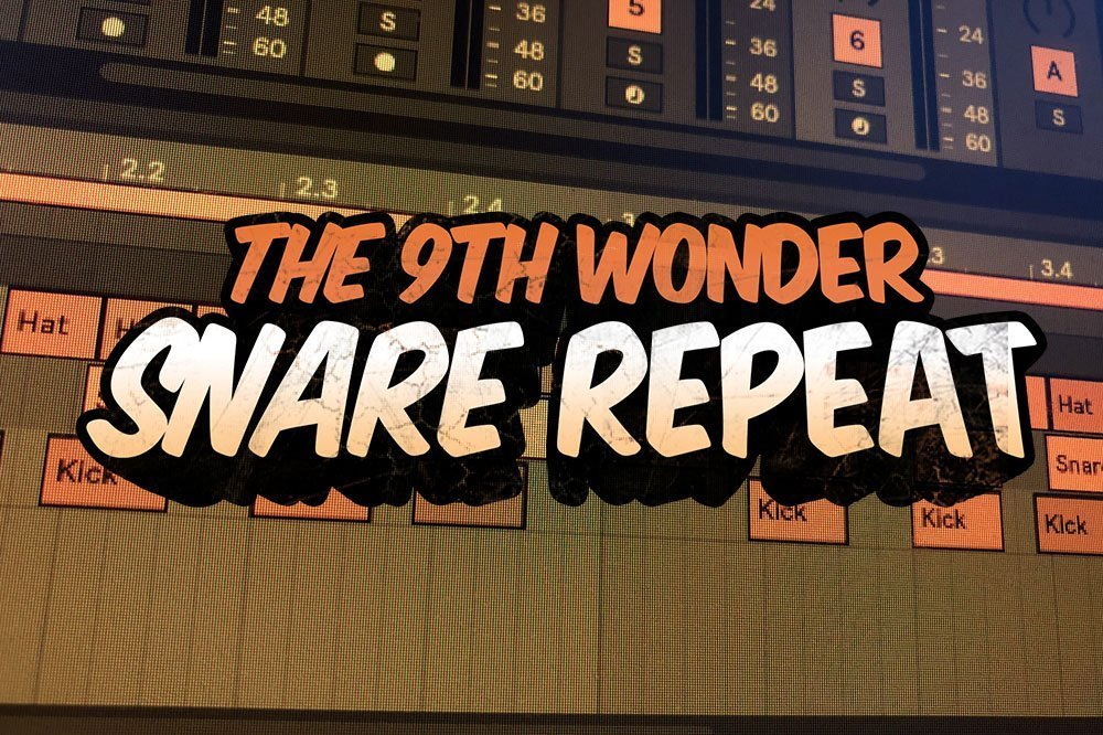Snare Repeat 9th Wonder