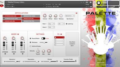 Palette Orchestral Kontakt Library
