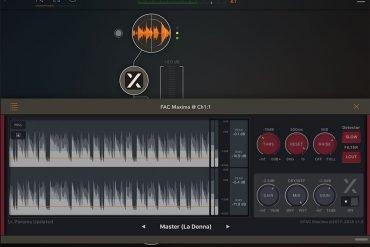Maxima Compressor Limiter iPad App