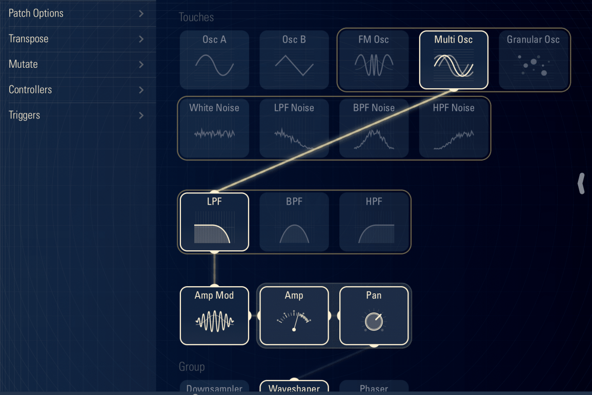 TC-11 Multi-Touch Synth