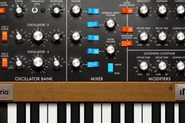 MiniMoog for iPad