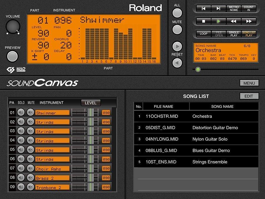 Roland Sound Canvas