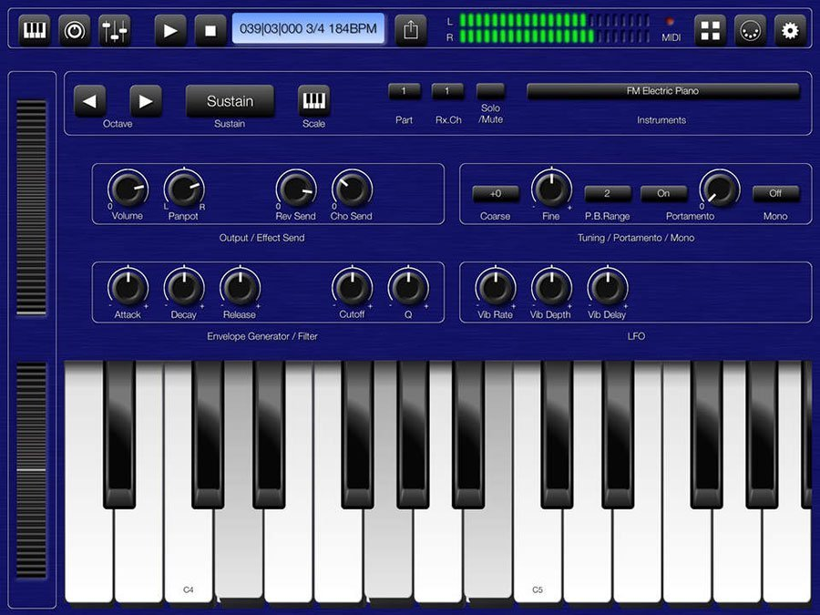 Soundfonts Player bs-16i on the Audiobus | Beat Production