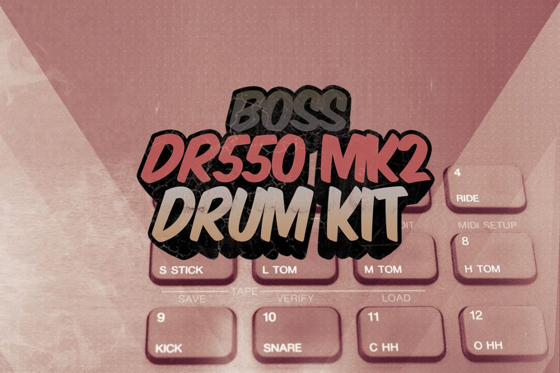 Boss DR550MKii Drum Kit