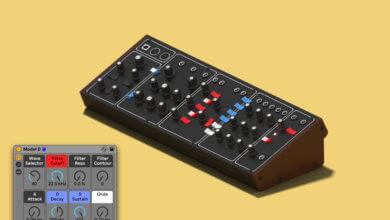Model D for Ableton Live