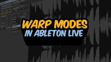 Warp Modes in Ableton Live