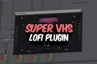 SUPER VHS LoFi Plugin