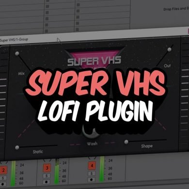 SUPER VHS LoFi Plugin